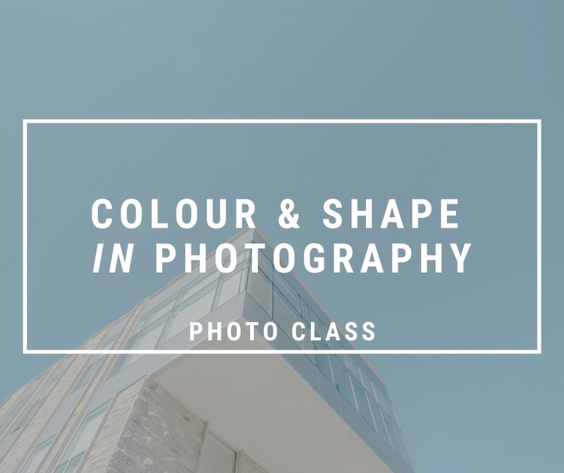 Using Colour and Shape in Photography Meetup