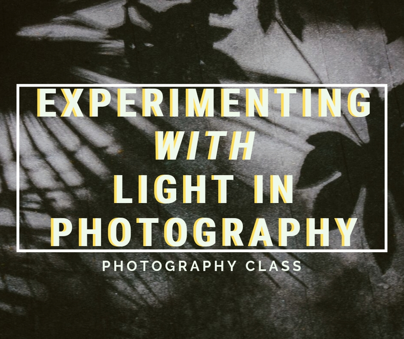 Experimentation with Light Photography Meetup
